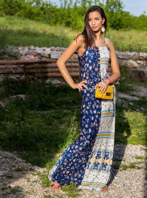 рокля дълга ВАКАНЦИЯ